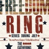 Poster for the Gathering Nashville series: Let Freedom Ring