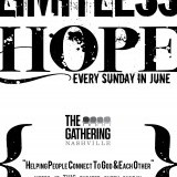 Poster for the Gathering Nashville series: Limitless Hope